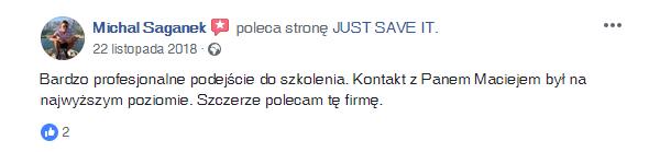 Michał-Saganek-opinia